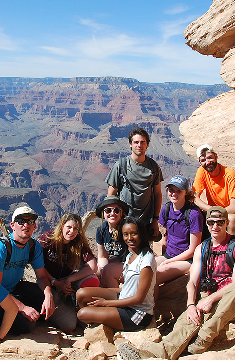 Grand Canyon with Students